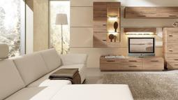 modern living room woods 700x324