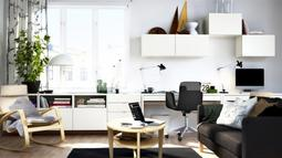 white home office 665x388